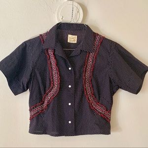 Vintage Blouse with detail